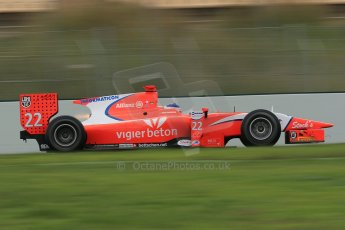 © Octane Photographic Ltd. GP2 Autumn Test – Circuit de Catalunya – Barcelona. Tuesday 30th October 2012 Morning session - Arden International - Simon Trummer. Digital Ref : 0551cb1d6224