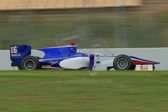 © Octane Photographic Ltd. GP2 Autumn Test – Circuit de Catalunya – Barcelona. Tuesday 30th October 2012 Morning session - Trident Racing - Marcus Ericsson. Digital Ref : 0551cb1d6246