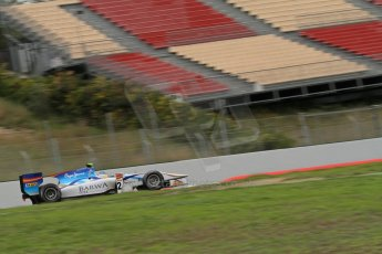 © Octane Photographic Ltd. GP2 Autumn Test – Circuit de Catalunya – Barcelona. Tuesday 30th October 2012 Morning session - Barwa Addax Team - Adrian Quaife-Hobbs. Digital Ref : 0551lw7d0194