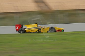 © Octane Photographic Ltd. GP2 Autumn Test – Circuit de Catalunya – Barcelona. Tuesday 30th October 2012 Morning session - Dams - Arthur Pic. Digital Ref : 0551lw7d0365
