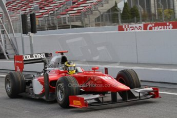 © Octane Photographic Ltd. GP2 Autumn Test – Circuit de Catalunya – Barcelona. Tuesday 30th October 2012 Morning session - Scuderia Coloni - Daniel De Jong. Digital Ref : 0551lw7d9886