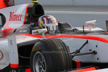 © Octane Photographic Ltd. GP2 Autumn Test – Circuit de Catalunya – Barcelona. Tuesday 30th October 2012 Morning session - Rapax - Stefano Coletti. Digital Ref : 0551lw7d9904