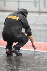 © Octane Photographic Ltd. GP2 Autumn Test – Circuit de Catalunya – Barcelona. Wednesday 31st October 2012 Morning session - Pirelli track temperature measurments. Digital Ref :