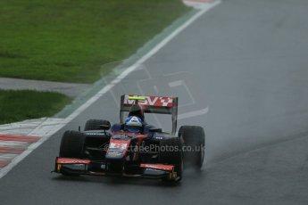 © Octane Photographic Ltd. GP2 Autumn Test – Circuit de Catalunya – Barcelona. Wednesday 31st October 2012 Morning session. iSport International - Jolyon Palmer. Digital Ref :