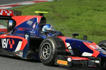 © Octane Photographic Ltd. GP2 Autumn Test – Circuit de Catalunya – Barcelona. Wednesday 31st October 2012 Afternoon session - iSport International - Jolyon Palmer. Digital Ref :
