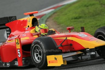 © Octane Photographic Ltd. GP2 Autumn Test – Circuit de Catalunya – Barcelona. Wednesday 31st October 2012 Afternoon session. Digital Ref :