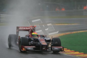 © 2012 Octane Photographic Ltd. Belgian GP Spa - Friday 31st August 2012 - GP2 Friday Practice - Venezuela GP Lazarus - Sergio Canamasas. Digital Ref :