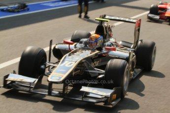 © 2012 Octane Photographic Ltd. Italian GP Monza - Friday 7th September 2012 - GP2 Practice - Lotus GP - Esteban Gutierrez. Digital Ref : 0506cb7d2032