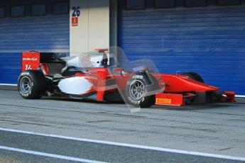 © Octane Photographic Ltd. GP2 Winter testing Jerez Day 1, Tuesday 28th February 2012. Scuderia Coloni, Stefano Coletti. Digital Ref :