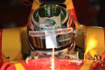 © Octane Photographic Ltd. GP2 Winter testing Jerez Day 1, Tuesday 28th February 2012. Racing Engineering, Berthon. Digital Ref :