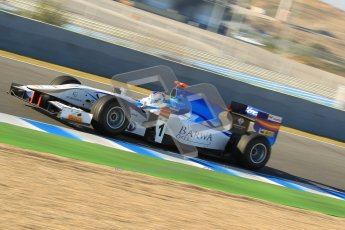 © Octane Photographic Ltd. GP2 Winter testing Jerez Day 1, Tuesday 28th February 2012. Barwa Addax Team, Johnny Cecotto Jntr. Digital Ref :