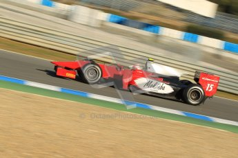 © Octane Photographic Ltd. GP2 Winter testing Jerez Day 1, Tuesday 28th February 2012. Scuderia Coloni, Fabio Onidi. Digital Ref :