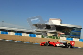 © Octane Photographic Ltd. GP2 Winter testing Jerez Day 1, Tuesday 28th February 2012. Scuderia Coloni, Fabio Onidi. Digital Ref :