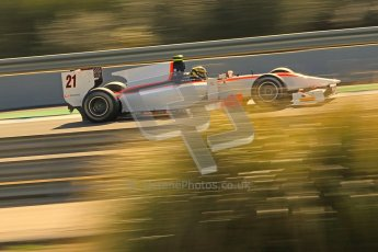 © Octane Photographic Ltd. GP2 Winter testing Jerez Day 1, Tuesday 28th February 2012. Rapax, Daniel de Jong. Digital Ref :