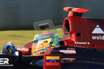 © Octane Photographic Ltd. GP2 Winter testing Jerez Day 1, Tuesday 28th February 2012. Venezuela GP Lazarus, Fabrizio Crestani. Digital Ref :