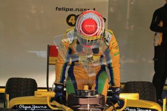 © Octane Photographic Ltd. GP2 Winter testing Jerez Day 1, Tuesday 28th February 2012. DAMS, Feipe Nasr. Digital Ref :