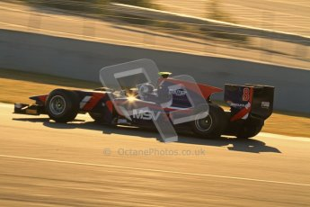 © Octane Photographic Ltd. GP2 Winter testing Jerez Day 1, Tuesday 28th February 2012. iSport International, Jolyon Palmer. Digital Ref :