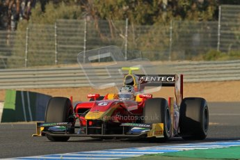 © Octane Photographic Ltd. GP2 Winter testing Jerez Day 1, Tuesday 28th February 2012. Racing Engineering, Nathanael Berthon. Digital Ref :
