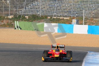 © Octane Photographic Ltd. GP2 Winter testing Jerez Day 1, Tuesday 28th February 2012. Racing Engineering, Fabio Leimer. Digital Ref :