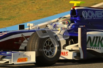 © Octane Photographic Ltd. GP2 Winter testing Jerez Day 1, Tuesday 28th February 2012. Trident Racing, Julian Leal. Digital Ref :