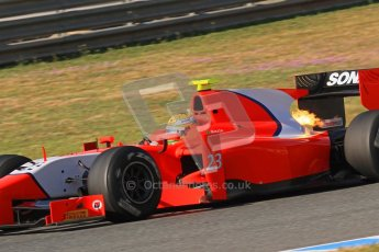 © Octane Photographic Ltd. GP2 Winter testing Jerez Day 1, Tuesday 28th February 2012. Arden International, Luiz Razia. Digital Ref :