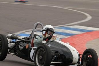 © Octane Photographic Ltd. HSCC Donington Park 17th March 2012. 500cc F3. Nigel Challis - Cooper MK8. Digital ref : 0245lw7d8125