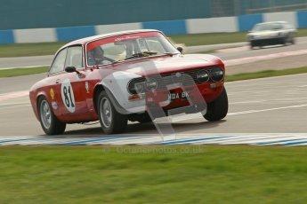 © Octane Photographic Ltd. HSCC Donington Park 17th March 2012. 70's Road Sports Championship. John Dobson - Alfa Romeo 2000 GTV. Digital ref : 0239cb1d6401