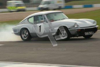 © Octane Photographic Ltd. HSCC Donington Park 17th March 2012. 70's Road Sports Championship. John Thomason - Triumph GT6 MKiii. Digital ref : 0239cb1d6433