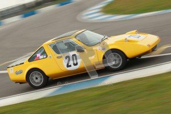 © Octane Photographic Ltd. HSCC Donington Park 17th March 2012. 70's Road Sports Championship. Justin Wilson - Alfa Romeo Bertone. Digital ref : 0239cb1d6469