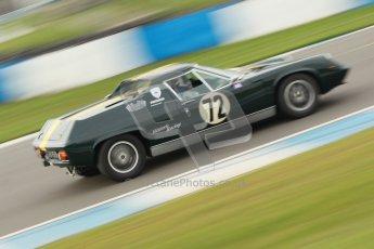 © Octane Photographic Ltd. HSCC Donington Park 17th March 2012. 70's Road Sports Championship. James Dean - Lotus Europa. Digital ref : 0239cb1d6484