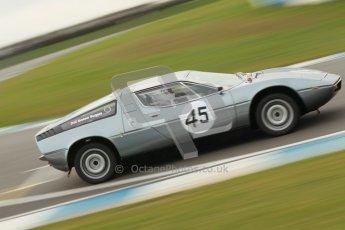 © Octane Photographic Ltd. HSCC Donington Park 17th March 2012. 70's Road Sports Championship. Graham Burgess - Maserati Bora. Digital ref : 0239cb1d6517