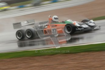 © Octane Photographic Ltd. HSCC Donington Park 18th May 2012. Classic Formula 3 Championship including Tony Brise Derek Bell Trophies Race. Jeremy Smith - F1 March 2-4-0. Digital ref : 0248cb1d8414