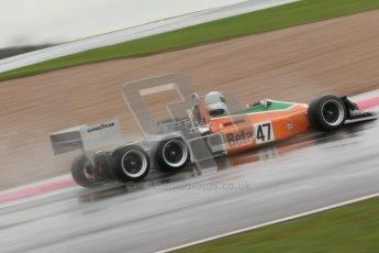 © Octane Photographic Ltd. HSCC Donington Park 18th May 2012. Classic Formula 3 Championship including Tony Brise Derek Bell Trophies Race. Jeremy Smith - F1 March 2-4-0. Digital ref : 0248cb1d8506