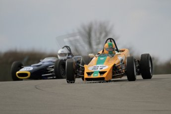© Octane Photographic Ltd. HSCC Donington Park 17th March 2012. Classic Racing Cars. Digital ref : 0244cb7d4812