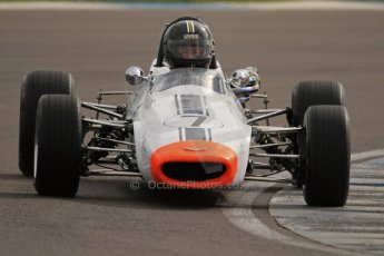© Octane Photographic Ltd. HSCC Donington Park 17th March 2012. Classic Racing Cars. Stuart Tizzard - Chevron B15C. Digital ref : 0244cb7d4816