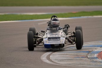 © Octane Photographic Ltd. HSCC Donington Park 17th March 2012. Classic Racing Cars. John Crowell - Elden MK8.  Digital ref : 0244cb7d5010