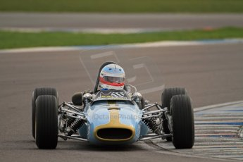 © Octane Photographic Ltd. HSCC Donington Park 17th March 2012. Classic Racing Cars. Peter Hamilton - Tecno. Digital ref : 0244cb7d5028