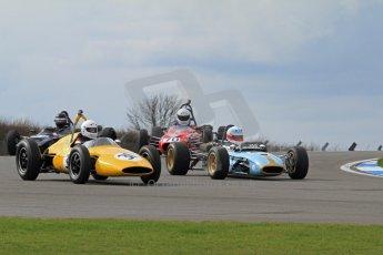© Octane Photographic Ltd. HSCC Donington Park 17th March 2012. Classic Racing Cars. Brian Ashby - Emeryson Formula 1. Digital ref : 0244lw7d7362
