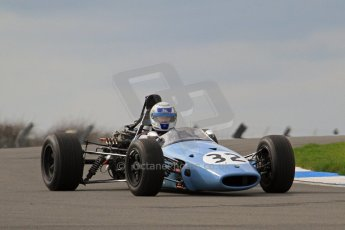 © Octane Photographic Ltd. HSCC Donington Park 17th March 2012. Classic Racing Cars. Julian Judd - Jovis. Digital ref : 0244lw7d7394