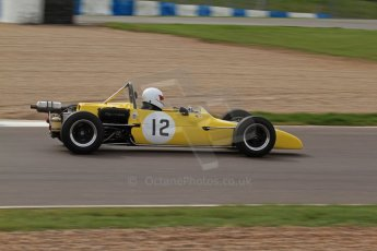 © Octane Photographic Ltd. HSCC Donington Park 17th March 2012. Classic Racing Cars. Andy Jarvis - Palliser WDB2. Digital ref : 0244lw7d7498