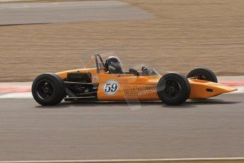 © Octane Photographic Ltd. HSCC Donington Park 17th March 2012. Classic Racing Cars. Ian Jones - Lotus 59. Digital ref : 0244lw7d7552