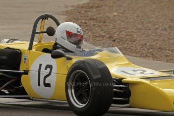 © Octane Photographic Ltd. HSCC Donington Park 17th March 2012. Classic Racing Cars. Andy Jarvis - Palliser WDB2. Digital ref : 0244lw7d7652