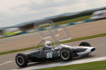 © Octane Photographic Ltd. HSCC Donington Park 17th March 2012. Historic Formula Junior Championship (Rear engine).. Steve Jones - Cooper T67. Digital ref : 0243cb1d7423