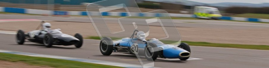 © Octane Photographic Ltd. HSCC Donington Park 17th March 2012. Historic Formula Junior Championship (Rear engine).. Nicholas Fennell - Lotus 27. Digital ref : 0243cb1d7434