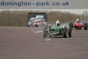 © Octane Photographic Ltd. HSCC Donington Park 17th March 2012. Historic Formula Junior Championship (Rear engine).. Digital ref : 0243cb1d7605