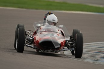© Octane Photographic Ltd. HSCC Donington Park 17th March 2012. Historic Formula Junior Championship (Rear engine).. Andrew Hibberd - Lotus 22. Digital ref : 0243cb7d4520