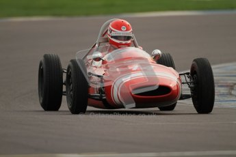 © Octane Photographic Ltd. HSCC Donington Park 17th March 2012. Historic Formula Junior Championship (Rear engine).. Rudolf Ernst - Lotus 22. Digital ref : 0243cb7d4553