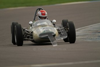 © Octane Photographic Ltd. HSCC Donington Park 17th March 2012. Historic Formula Junior Championship (Rear engine).. Pete Morton - Lightning Envoyette. Digital ref : 0243cb7d4635
