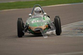 © Octane Photographic Ltd. HSCC Donington Park 17th March 2012. Historic Formula Junior Championship (Rear engine).. Alex Morton - Ausper T3. Digital ref : 0243cb7d4643