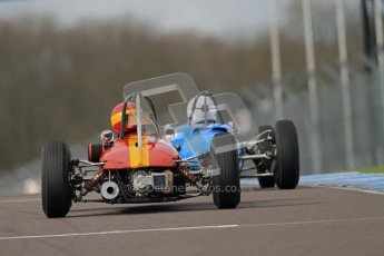 © Octane Photographic Ltd. HSCC Donington Park 17th March 2012. Historic Formula Junior Championship (Rear engine).. Digital ref : 0243cb7d4764